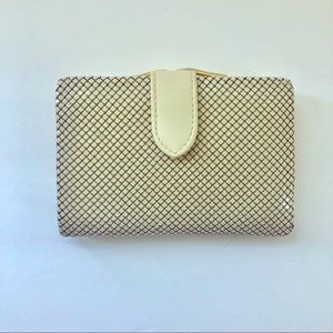 Whiting & Davis Intl Bone White Wallet